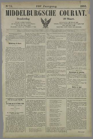 Middelburgsche Courant 1883-03-29