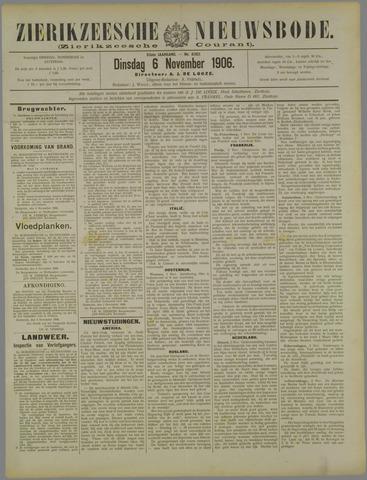 Zierikzeesche Nieuwsbode 1906-11-06