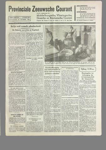 Provinciale Zeeuwse Courant 1940-10-15