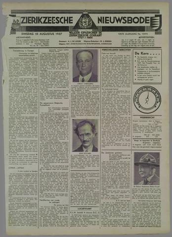 Zierikzeesche Nieuwsbode 1937-08-10