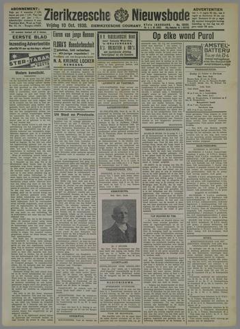 Zierikzeesche Nieuwsbode 1930-10-10