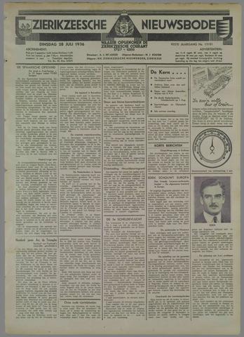 Zierikzeesche Nieuwsbode 1936-07-28