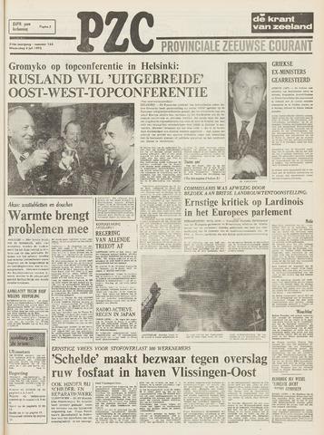 Provinciale Zeeuwse Courant 1973-07-04