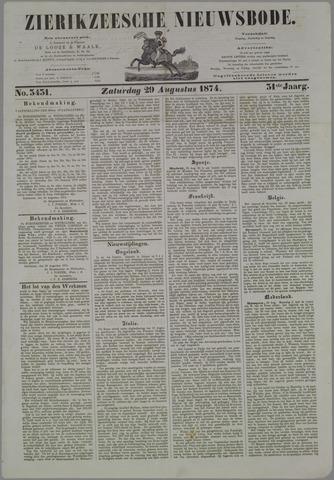 Zierikzeesche Nieuwsbode 1874-08-29