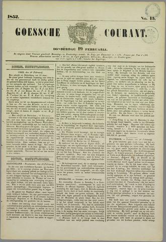 Goessche Courant 1852-02-19