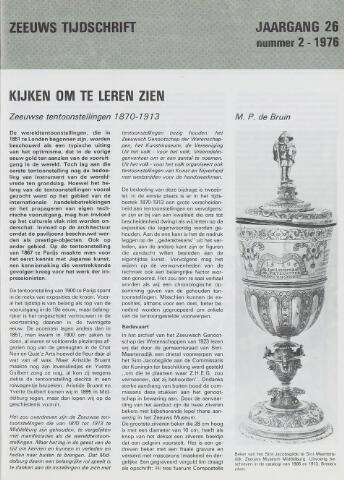 Zeeuws Tijdschrift 1976-03-15