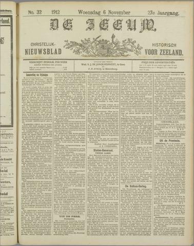 De Zeeuw. Christelijk-historisch nieuwsblad voor Zeeland 1912-11-06