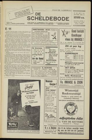 Scheldebode 1955-01-28