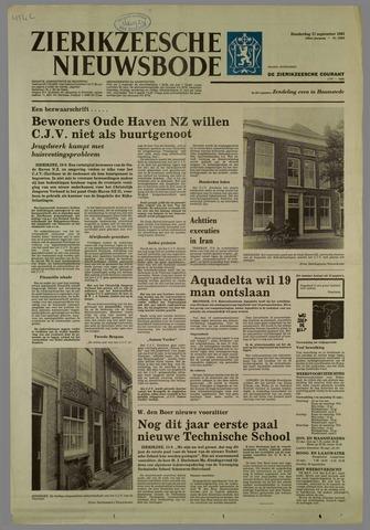 Zierikzeesche Nieuwsbode 1981-09-17