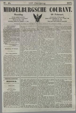 Middelburgsche Courant 1877-02-26