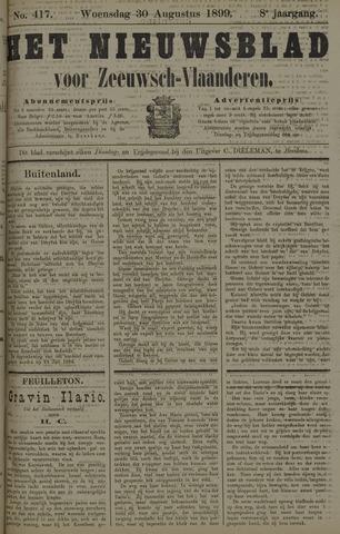 Nieuwsblad voor Zeeuwsch-Vlaanderen 1899-08-30
