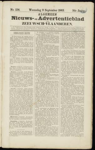 Ter Neuzensche Courant. Algemeen Nieuws- en Advertentieblad voor Zeeuwsch-Vlaanderen / Neuzensche Courant ... (idem) / (Algemeen) nieuws en advertentieblad voor Zeeuwsch-Vlaanderen 1863-09-09