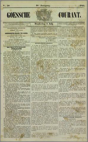 Goessche Courant 1861-07-04