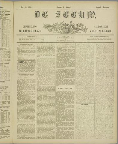 De Zeeuw. Christelijk-historisch nieuwsblad voor Zeeland 1895-01-08
