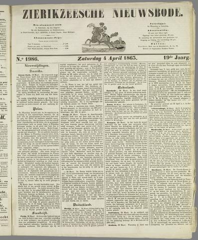 Zierikzeesche Nieuwsbode 1863-04-04