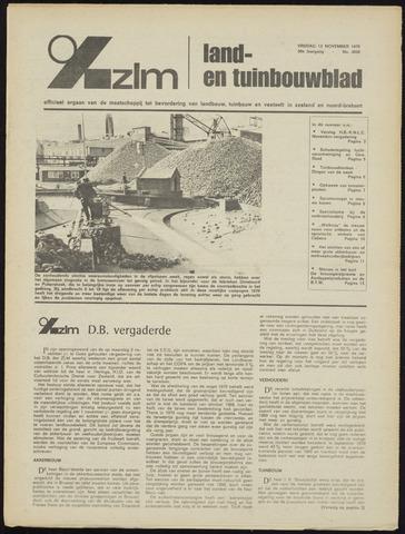 Zeeuwsch landbouwblad ... ZLM land- en tuinbouwblad 1970-11-11