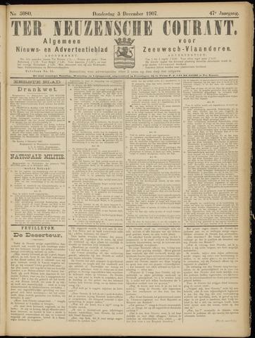 Ter Neuzensche Courant. Algemeen Nieuws- en Advertentieblad voor Zeeuwsch-Vlaanderen / Neuzensche Courant ... (idem) / (Algemeen) nieuws en advertentieblad voor Zeeuwsch-Vlaanderen 1907-12-05