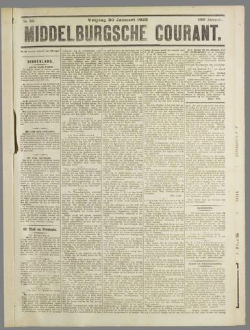 Middelburgsche Courant 1925-01-30
