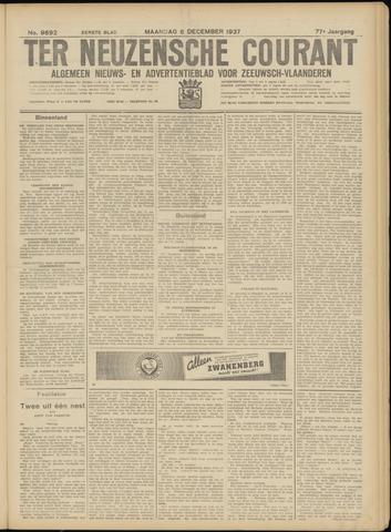 Ter Neuzensche Courant. Algemeen Nieuws- en Advertentieblad voor Zeeuwsch-Vlaanderen / Neuzensche Courant ... (idem) / (Algemeen) nieuws en advertentieblad voor Zeeuwsch-Vlaanderen 1937-12-06