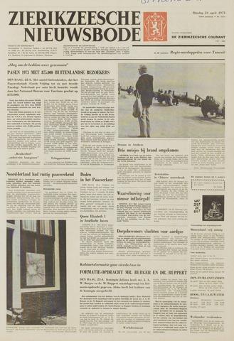 Zierikzeesche Nieuwsbode 1973-04-24