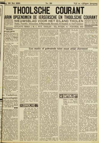 Ierseksche en Thoolsche Courant 1938-05-20