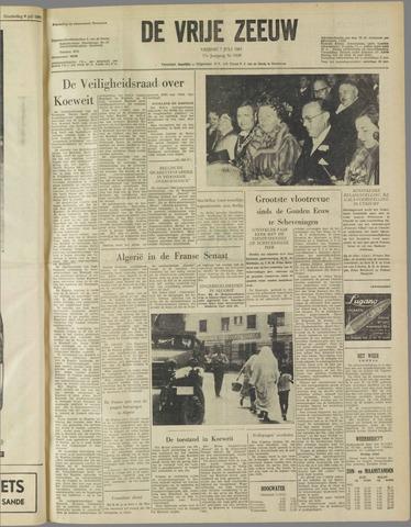 de Vrije Zeeuw 1961-07-07