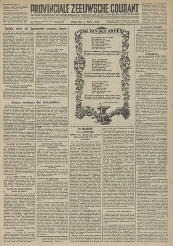 Provinciale Zeeuwse Courant 1942-05-01