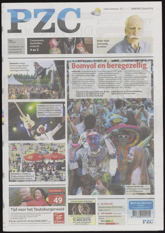 Provinciale Zeeuwse Courant 2014-06-10