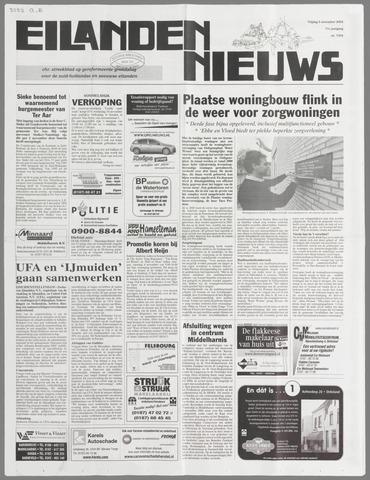 Eilanden-nieuws. Christelijk streekblad op gereformeerde grondslag 2004-11-05