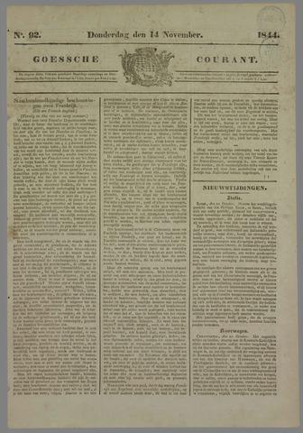 Goessche Courant 1844-11-14