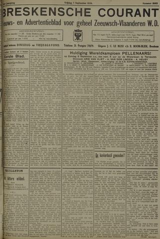 Breskensche Courant 1934-09-07