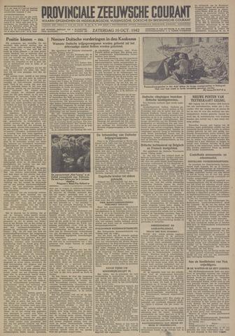 Provinciale Zeeuwse Courant 1942-10-10