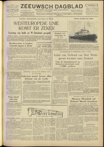 Zeeuwsch Dagblad 1954-10-22