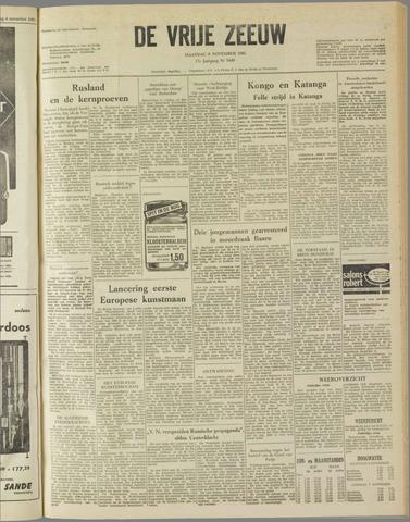 de Vrije Zeeuw 1961-11-06