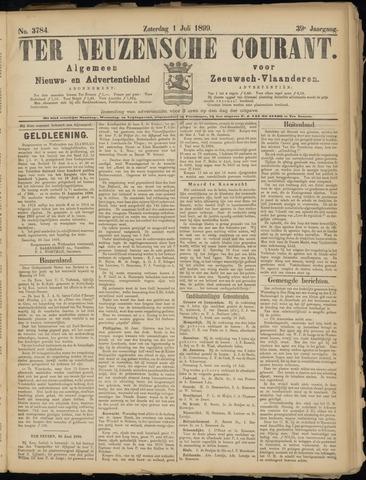 Ter Neuzensche Courant. Algemeen Nieuws- en Advertentieblad voor Zeeuwsch-Vlaanderen / Neuzensche Courant ... (idem) / (Algemeen) nieuws en advertentieblad voor Zeeuwsch-Vlaanderen 1899-07-01