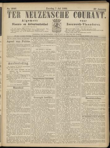 Ter Neuzensche Courant. Algemeen Nieuws- en Advertentieblad voor Zeeuwsch-Vlaanderen / Neuzensche Courant ... (idem) / (Algemeen) nieuws en advertentieblad voor Zeeuwsch-Vlaanderen 1900-07-07