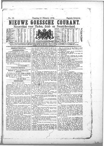 Nieuwe Goessche Courant 1874-02-10