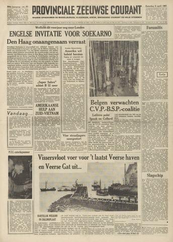 Provinciale Zeeuwse Courant 1961-04-08