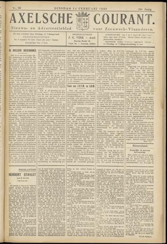 Axelsche Courant 1939-02-14