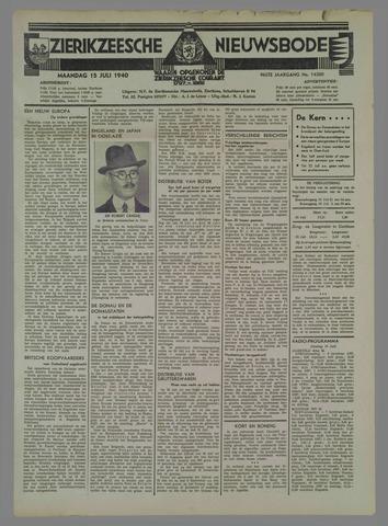 Zierikzeesche Nieuwsbode 1940-07-15