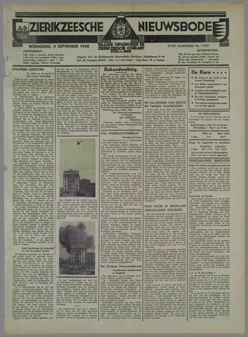 Zierikzeesche Nieuwsbode 1940-09-04