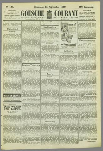 Goessche Courant 1929-09-25