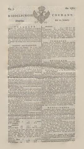 Middelburgsche Courant 1762-01-12