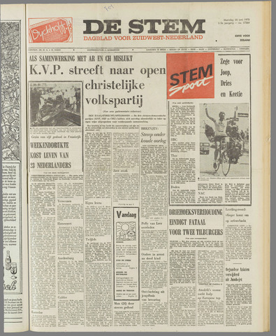 de Stem 1973-06-25