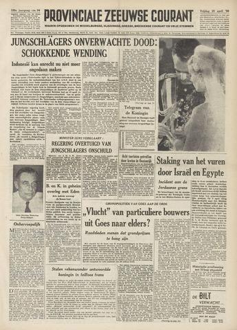 Provinciale Zeeuwse Courant 1956-04-20