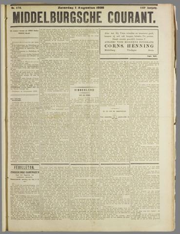 Middelburgsche Courant 1925-08-01