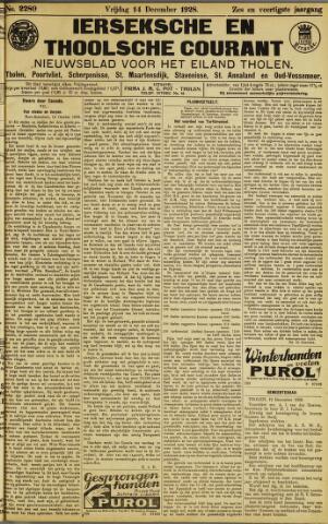 Ierseksche en Thoolsche Courant 1928-12-14