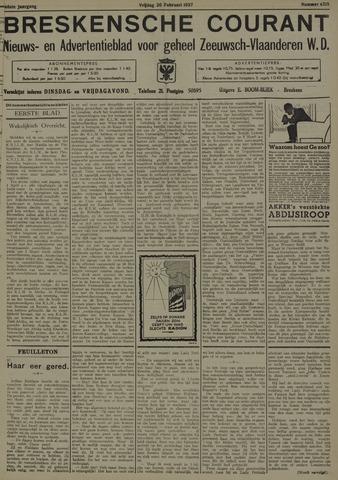 Breskensche Courant 1937-02-26