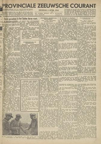 Provinciale Zeeuwse Courant 1944-04-04