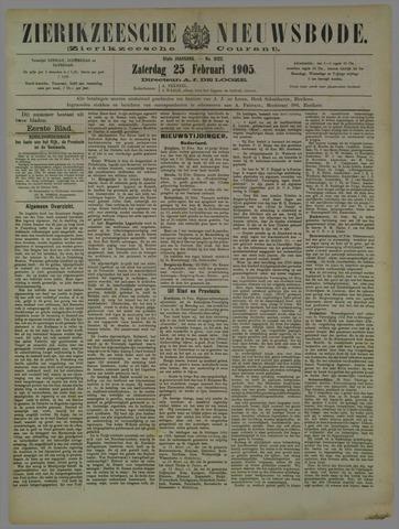 Zierikzeesche Nieuwsbode 1905-02-25